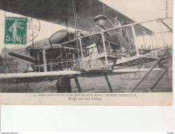 Semaine D'Aviation Bordeaux Beau Desert Merignac-Bregi Sur Son Voisin. - Bordeaux