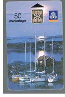 SVEZIA (SWEDEN) - TELIA  (CHIP) -  1991      MMARINE LANDSCAPE      - USED - RIF. 10016 - Sweden