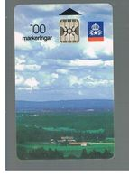 SVEZIA (SWEDEN) - TELIA  (CHIP) -  1992       LANDSCAPE      - USED - RIF. 10016 - Sweden
