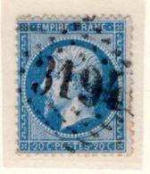 LOIR ET CHER : GC 3194 Sur Yt 22 ROMORANTIN - 1849-1876: Periodo Classico