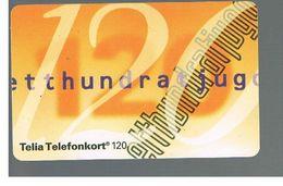 SVEZIA (SWEDEN) - TELIA  (CHIP) -  1993      NUMBER 120    - USED - RIF. 10022 - Sweden