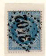 AISNE : GC 3402 Sur Yt 29 SEYSSEL - 1849-1876: Classic Period