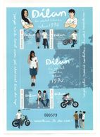 INDONESIA 2018 FAMOUS MOVIE 'DILAN' SHEETLET STAMPS MNH - Indonésie