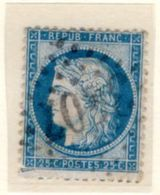 AUDE : GC 3407 Sur Yt 60 SIGEAN - 1849-1876: Periodo Classico