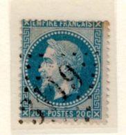 HAUTE GARONNE : GC 3119 Sur Yt 29 REVEL - 1849-1876: Periodo Classico