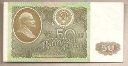 URSS - Banconota Circolata Da 50 Rubli P-247a - 1992 - Russia