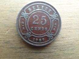 Belize  25  Cents  1989  Km 36 - Belize