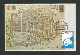 Niederlande 1982  Mi.Nr. 1219 , EUROPA CEPT Historische Ereignisse - Maximum Card - Stempel Enkhuizen 16.IX.82 - Europa-CEPT