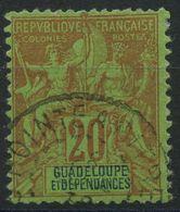 Guadeloupe (1892 N 33 (o) - Oblitérés