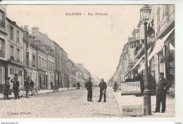 Mamers-Rue Nationale.Lib.Fleuriel. - Mamers