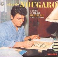 """CD 4 Titres Claude Nougaro """" Le Cinéma, Les Don Juan, Une Petite Fille, Le Jazz Et La Java """" - Music & Instruments"""