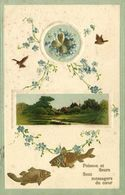DESTOCKAGE  BON LOT 1000 CPA  Fantaisie (100 Scanées) - Postcards