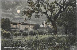 Suisse VD COLOMBIER Le Chateau La Nuit..G - VD Vaud