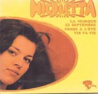 """CD 4 Titres Nicoletta """" La Musique, 32 Septembre, Pense à L'été, Vis Ta Vie """" - Music & Instruments"""