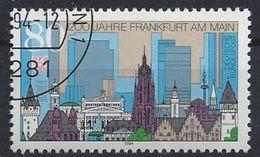 Germany 1994  1200 Jahre Frankfurt Am Main (o) Mi.PF 1721 I - [7] Federal Republic