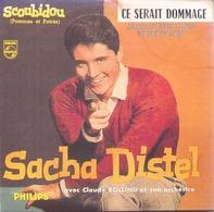 """CD 4 Titres Sacha Distel Scoubidou, Et Que ça Dure, Quand On S'est Connu, Ce Serait Dommage """" - Music & Instruments"""