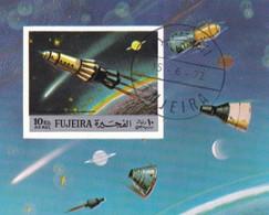 FUJEIRA  SPACE EXPLORATIONS 1972 - Fujeira