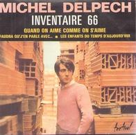 """CD 4 Titres Michel Delpech """" Quand On Aime Comme On S'aime, Faudra Qu'j'en Parle Avec, Inventaire 66, Les Enfants ... """" - Music & Instruments"""