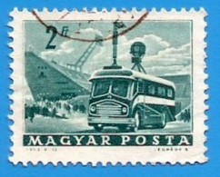 Hungria. Hungary. 1963. Michel 1935. Mobil Radio Transmiter - Oblitérés