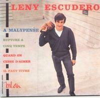 """CD 4 Titres Lenny Escudero A Malypense, Rupture à 5 Temps, Quand On Cesse D'aimer, Il Faut Vivre """" ( Autographe Au Dos ) - Music & Instruments"""