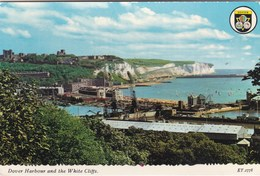 DOVER HARBOUR AND THE WHITE CLIFFS - Dover