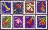 (029) Bolivia / Bolivie  Flowers / Fleurs / Blumen / Bloemen / Orchids ? / Orchises ?  ** / Mnh  Michel 672-679 - Bolivia