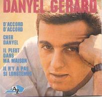 """CD 4 Titres Danyel Gérard """" D'accord D'accord, Cher Danyel, Il Pleut Dans Ma Maison, Il N'y A Pas Si Longtemps """" - Music & Instruments"""