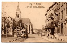Vilvoorde OLV Kerk En Schaarbeeksesteenweg - Tram 53 Uitg. Flion Nr 17 - Vilvoorde