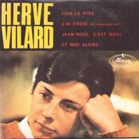 """CD 4 Titres Hervé Vilard """" Fais La Rire, J'ai Envie, Jean Noël C'est Noël, Et Moi Alors """" - Music & Instruments"""