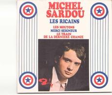 """CD 4 Titres Michel Sardoi """" Les Ricains, Les Moutons, Merci Seigneur, Le Train De La Dernière Chance """" - Music & Instruments"""