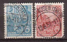 DDR , 1955 , Mi.Nr. 453 / 455 O / Used - DDR