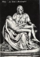 Roma - Santino Cartolina LA PIETÀ Di MICHELANGELO Città Del Vaticano - OTTIMO N94 - Religione & Esoterismo