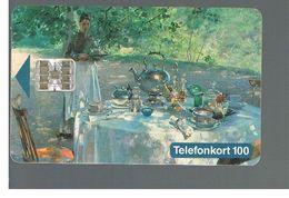 SVEZIA (SWEDEN) - TELIA  (CHIP) -  1993   HANNA HIRSCH-PAULI, PAINTING             - USED - RIF. 10028 - Svezia