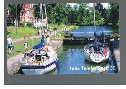 SVEZIA (SWEDEN) - TELIA  (CHIP) -  1994   GOTA CANAL             - USED - RIF. 10031 - Svezia
