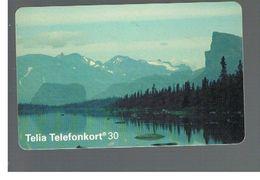 SVEZIA (SWEDEN) - TELIA  (CHIP) -  1994   NATIONAL PARK SAREK             - USED - RIF. 10032 - Sweden