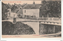 Fleurey-Le Pont-La Vallée De L'Ouche.Ecrite Par Voisenet. - Autres Communes