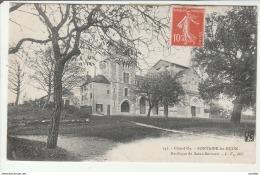 Fontaine Les Dijon-Basilique De St Bernard.Ecrite Par Voisenet. - Autres Communes