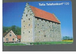 SVEZIA (SWEDEN) - TELIA  (CHIP) -  1994   GLIMMINGEHUS             - USED - RIF. 10034 - Svezia
