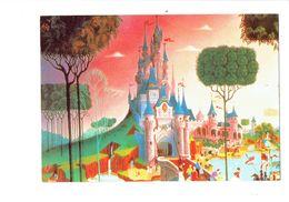 Cpm - Disney > Disneyland Paris - Fantasyland - Le Château De La Belle Au Bois Dormant - - Disneyland
