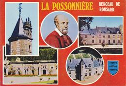 41  LA POSSONIERE / BERCEAU DE RONSARD / MULTIVUES / BLASON / PORTRAIT - France