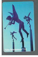SVEZIA (SWEDEN) - TELIA  (CHIP) -  1994   ANGELS        - USED - RIF. 10036 - Svezia