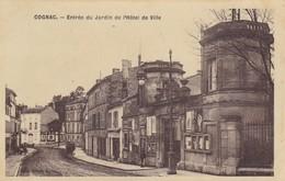 G11 - 16 - Cognac - Charente - Entrée Du Jardin De L'Hôtel De Ville - Cognac