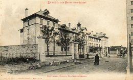 CPA - LUXEUIL-les-BAINS (70) - Aspect Des Nouvelles Ecoles Professionnelles En 1919 - Luxeuil Les Bains