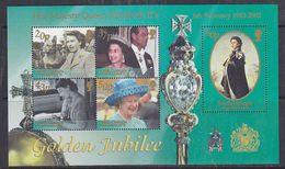 South Georgia 2002 Golden Jubilee M/s ** Mnh (37924) - Zuid-Georgia