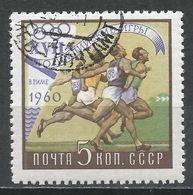 Russia 1960. Scott #2359 (U) Olympic Games, Rome, Running * - 1923-1991 URSS