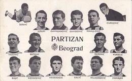 Beograd - Sportsko Drustvo Partizan , Football Team - Serbia