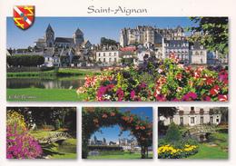 41 SAINT AIGNAN / MULTIVUES / BLASON - Saint Aignan