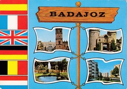 BADAJOZ - Carte Multivues (Postal De Multiview) - - Badajoz