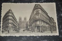 1652   Bruxelles  Brussel   La Rue Et L'Eglise Ste. Gudule   1938 - België