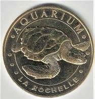 Monnaie De Paris 17.La Rochelle - Aquarium 10 - Tortue 2015 - Monnaie De Paris